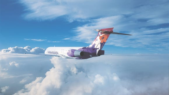 This image provided by Hawaiian Airlines shows one