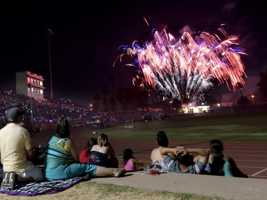 In this archive photo, thousands turned out to the 2014 4th of July Freedom Celebration featuring fireworks, entertainment.