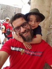 Jacob Hani and his nephew, Kerial Hani.