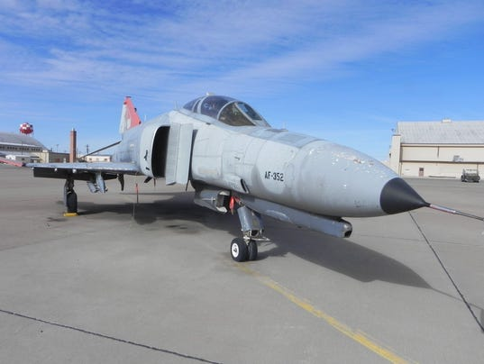 F-4 Static Display 1