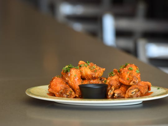 A view of the Baja wings at Baja 328 Tequila Bar Southwest Grill in Beacon.