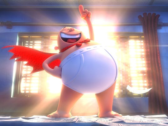 Film Review Captain Underpants (2)