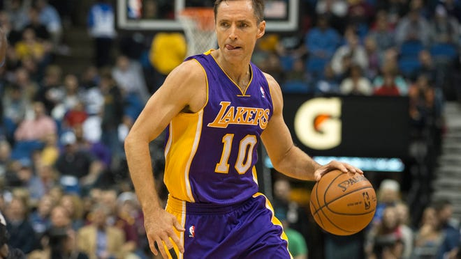 The Lakers' Steve Nash has fond memories of his successes with the Suns. His two seasons in Los Angeles have been anything but successful.