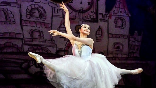 Elmira native Katia Raj performs in the Open World Dance Foundation production of Cinderella.