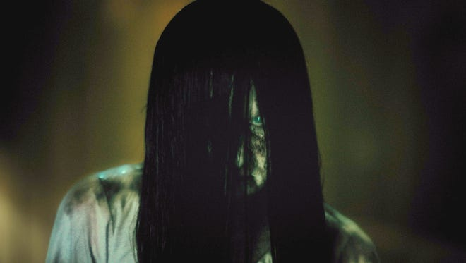 """This image released by Paramount Pictures shows Bonnie Morgan as Samara in a scene from the film, """"Rings."""""""