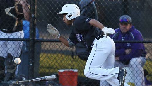 John Jay defeated Rye 3-2 in a boys baseball game at Disbrow Park in Rye April 13, 2016.