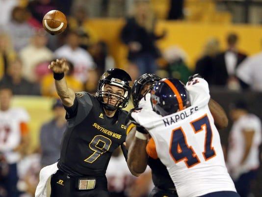 NCAA Football: Texas-San Antonio at Southern Mississippi
