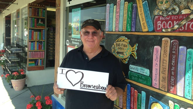 Browseabout Books owner Steve Crane