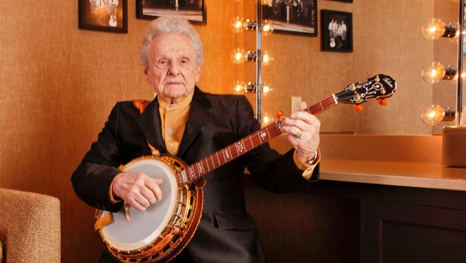 Ralph Stanley backstage at the Grand Ole Opry in Nashville in 2011.