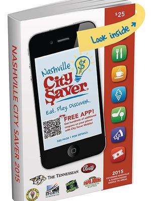 City Saver book