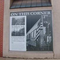Vacant building's windows come alive with memories