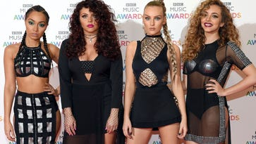 Little Mix, L-R: Leigh-Anne Pinnock, Jesy Nelson, Perrie Edwards and Jade Thirlwall.