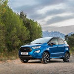 Ford alone flies U.S. flag while Benz, BMW unveil supercars at Frankfurt auto show