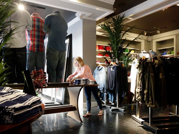 Abercrombie & Fitch said in its most recent quarterly report that it had closed 10 stores by November 2013 and would close another 40 stores by the end of its fiscal year. This list has been compiled by 24/7 Wall St.