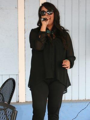 Vocalist Jessica Jaurez returns to perform at October Fiesta in Pinos Altos on Oct. 3. Courtesy Photo