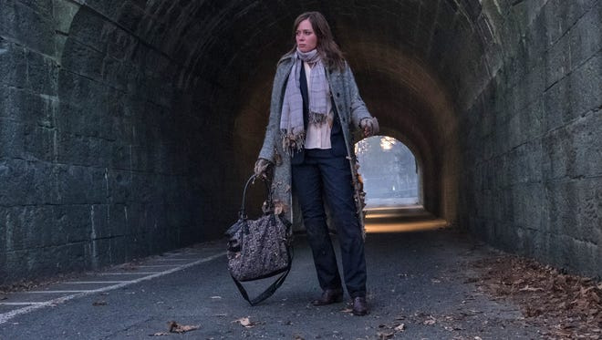 Unreliable narrator Rachel Watson (Emily Blunt) tries to unravel a local murder in domestic thriller 'The Girl on the Train.'