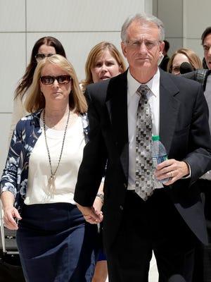 Former Arizona utility regulator Gary Pierce, and his wife, Sherry.