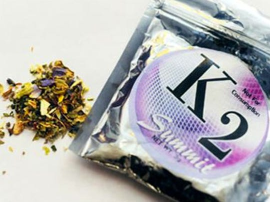 Synthetic marijuana is also known as K2 or Spice. Image courtesy of Coolidge Youth Coalition.