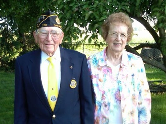 Anniversaries: Dempster Martin & Ruth Martin