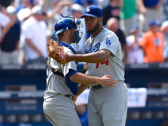 USP MLB_ Los Angeles Dodgers at Atlanta Braves