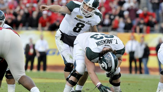 Kirk Cousins left MSU as the program's all-time leader