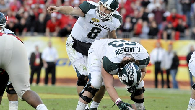 Kirk Cousins left MSU as the program's all-time leader in passing yards, completions and passing efficiency. More importantly, as a junior and senior he led the Spartans to a combined 22-5 record along with a share of the conference title in 2010 and division title in 2011.