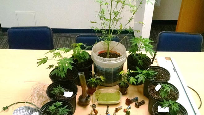 Police found a trove of marijuana-related items at a Nekoosa home on June 8, 2016, including 275 grams of marijuana butter.