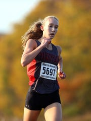 Kate Bernauer of Parsippany competes in the Northwest