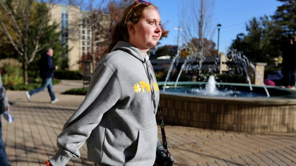 Lauren Hill, a freshman at Mount St. Joseph University