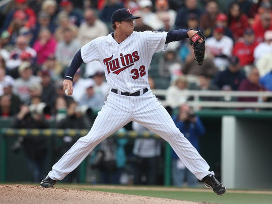 Minnesota Twins' starting pitcher Kyle Gibson has helped Eric Rasmussen with the Internet mentoring moments.