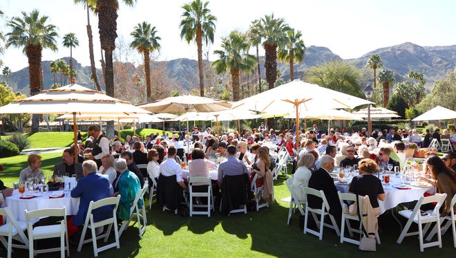 300 guests enjoyed lunch and a beautiful setting.