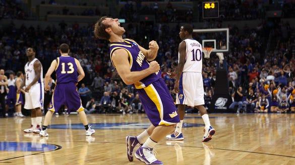 USP NCAA BASKETBALL: DIVISION I CHAMPIONSHIP-KANSAS VS NORTHERN IOWA S BKC USA OK
