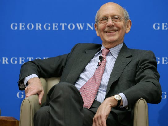 Justice Stephen Breyer, at 77, is younger than three