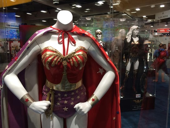 One of Lynda Carter's vintage outfits (front) from