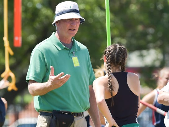 Lafayette High head girls track coach Ron Baillargeon is hoping to lead his Lady LIons to another Beaver Club Relays team crown.