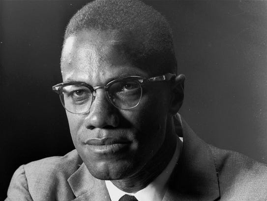 Malcolm X is photographed in New York on March 5, 1964.