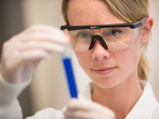 Researchers at BioMARC are using non-infectious particles to make filovirus vaccines for Department of Defense clinical trials.
