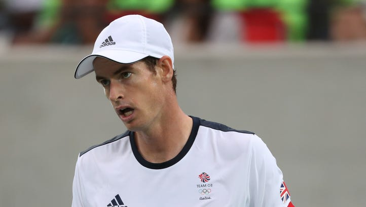 Andy Murray doesn't see it as a title defense; he just wants more gold