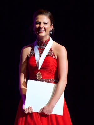 Tara Moore, of Easley, won the Distinguished Young Woman of America title in Mobile, Alabama on June 25.