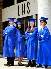 The La Vergne High School  valedictorians are, from