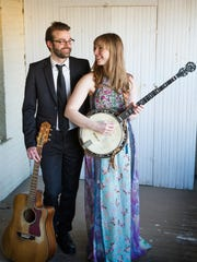 Deathfolk - Nick Hoover and Jess Holland - play the Fireside Coffeehouse Concert Series at Door Community Auditorium on Jan. 27.