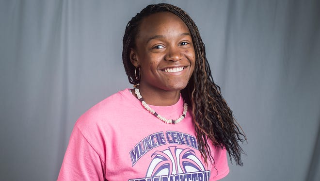 Central's Jayla Scaife.