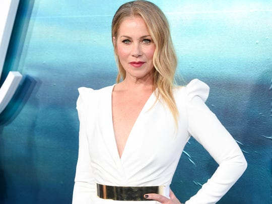 "Christina Applegate at the ""Dead to Me"" premiere in"
