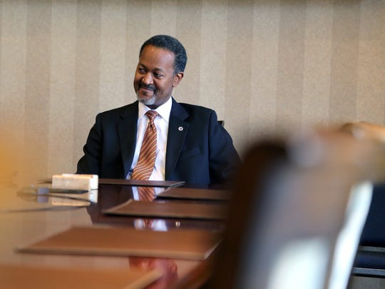 Dr. Cedric Adderley is president of the South Carolina Governor's School for the Arts and Humanities.