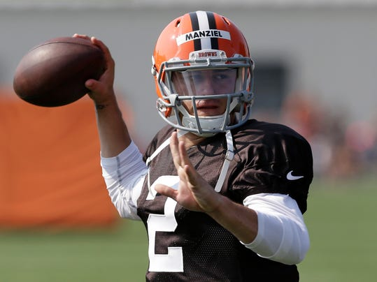 Browns Training Camp Football