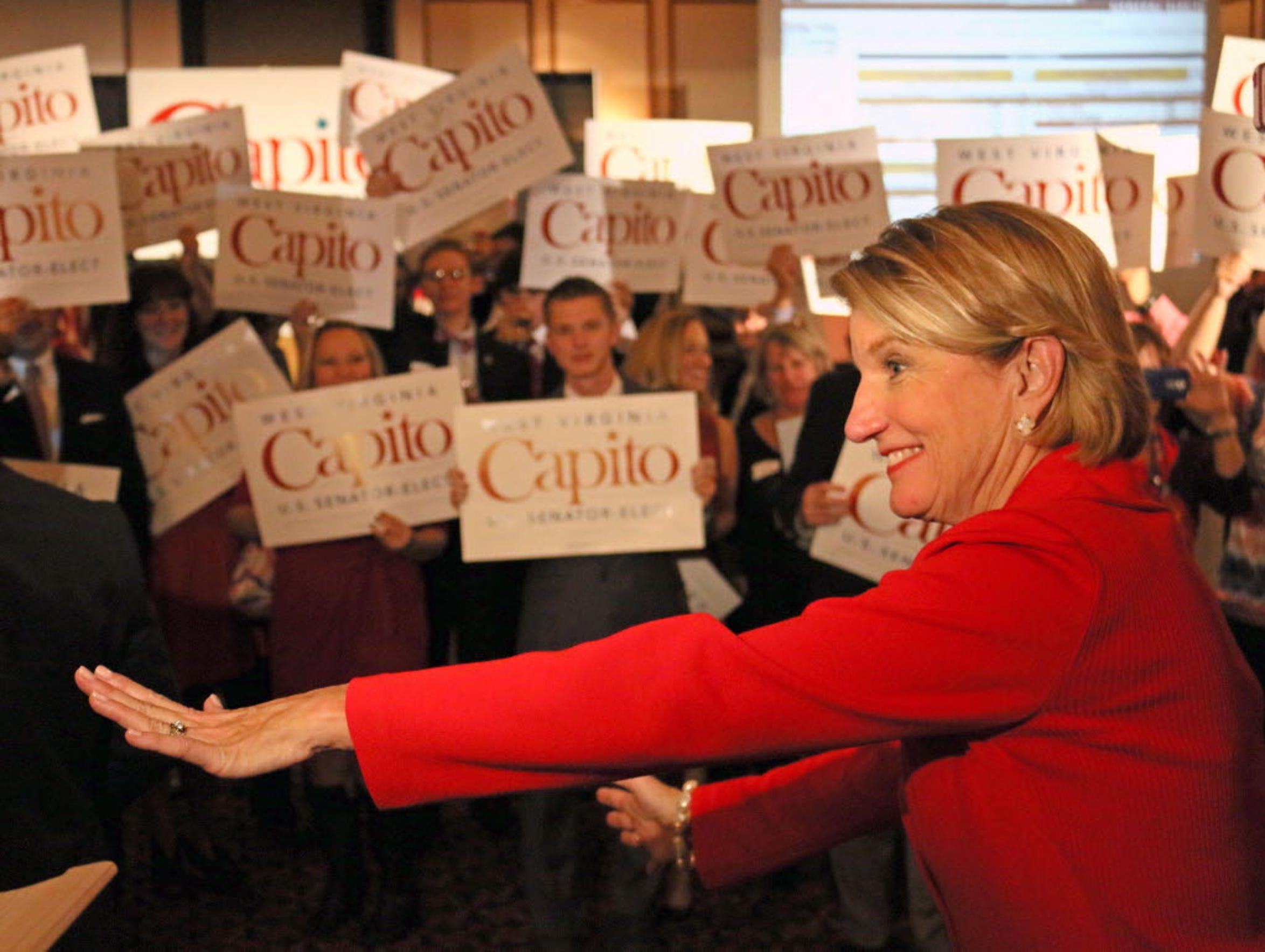 West Virginia Republican Sen.-elect Shelley Moore Capito