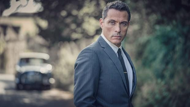 "Rufus Sewell stars as Mark Easterbrook in ""The Pale Horse."""