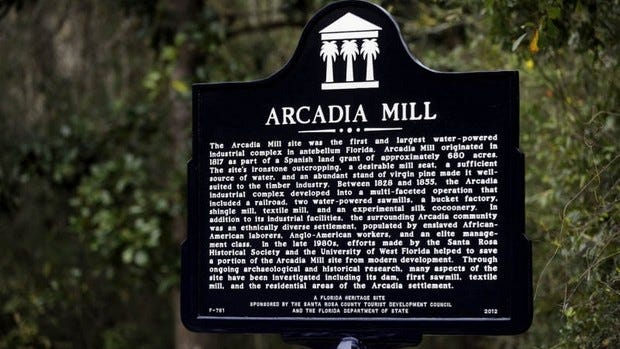 "The ""Admiring the Hush Arbor: Memorial and Remembrance of Enslaved People"" event on Feb. 2 will take place at Arcadia Mill."