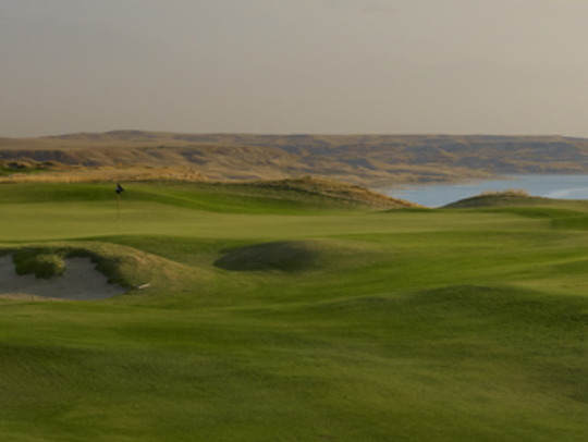 Sutton Bay Golf Club was built and managed by Landscapes Unlimited.
