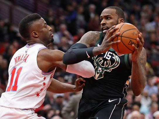 Shabazz Muhammad was signed on March 4 and appeared
